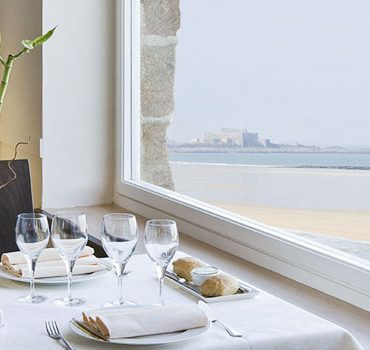 restaurant antinea vue mer