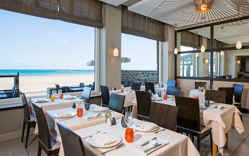Restaurant Vue Mer St-Malo
