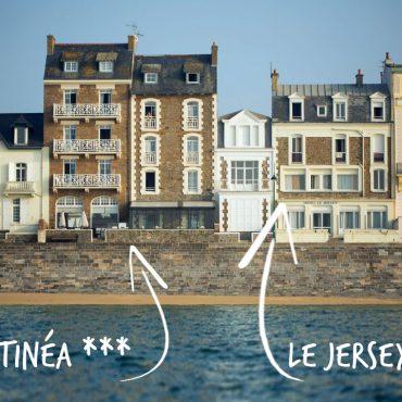 Hotel Antinea et Jersey à SAint-Malo