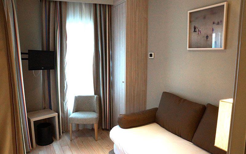 Chambre familiale à l'hotel