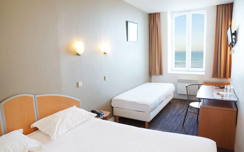Chambre Vue mer avec lit supplémentaire