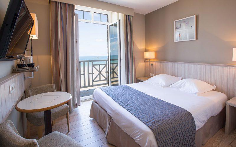 Chambre vur sur la plage