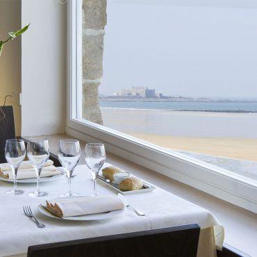 Restaurant vue mer en amoureux