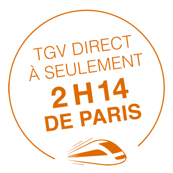 2 h 14 de Paris en TGV