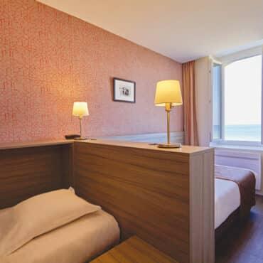 Chambre famille vue mer à Saint-Malo